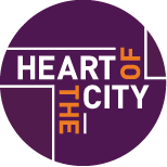 Heart of the City HOTC Logo