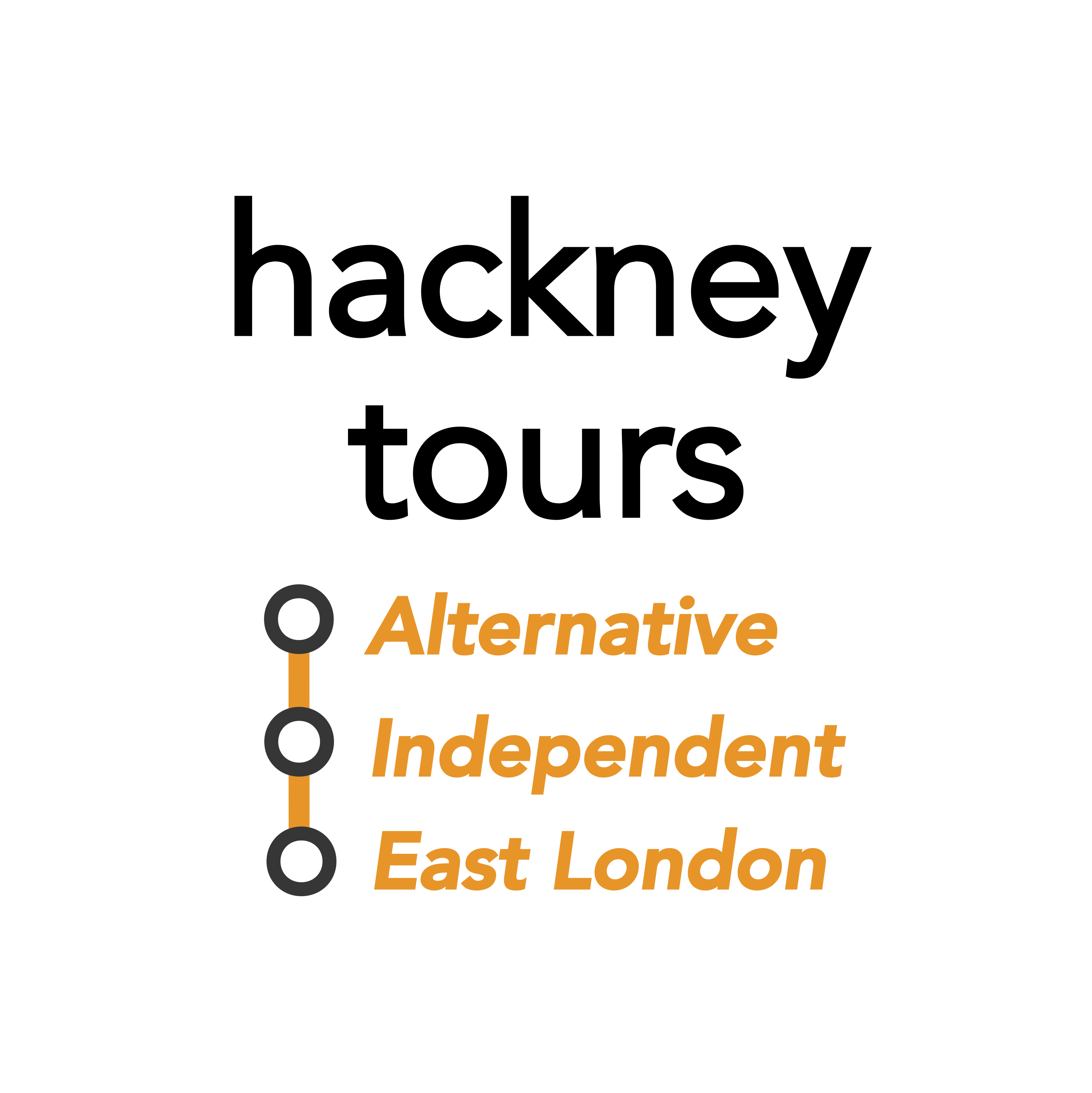 Hackney East London Tours Logo